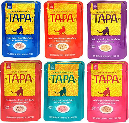 Tapa Cat Pouches