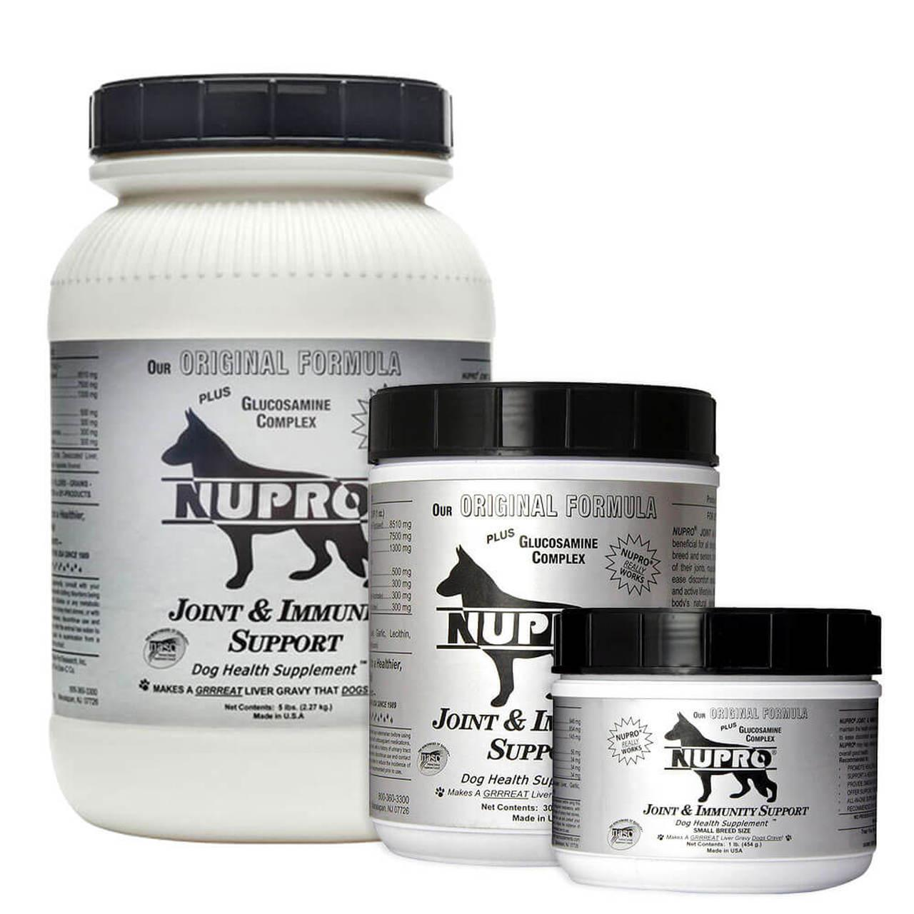 Nupro Joint & Immunity Support Dog Supplement