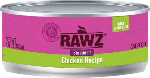 Rawz Shredded Cat Cans