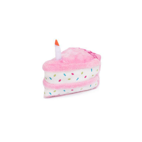 Zippy Paws Birthday Cake Toys