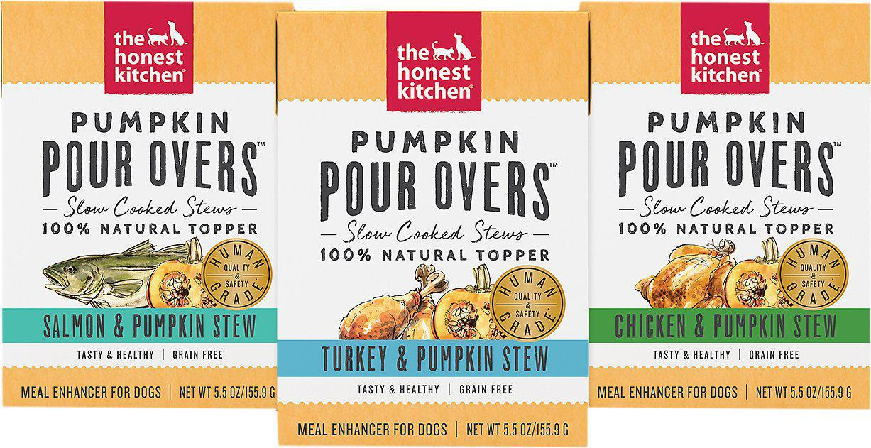 The Honest Kitchen Pumpkin Pour Overs