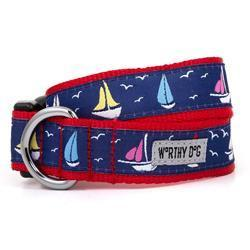 The Worthy Dog Collars - Sailboats