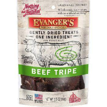 Evanger's Gently Dried Beef Tripe