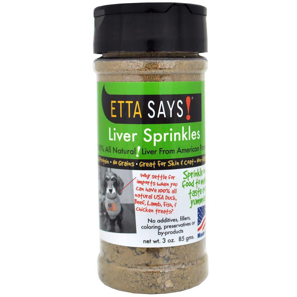 Etta Says Liver Sprinkles