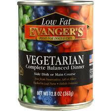 Evanger's Vegetarian Dog & Cat Cans