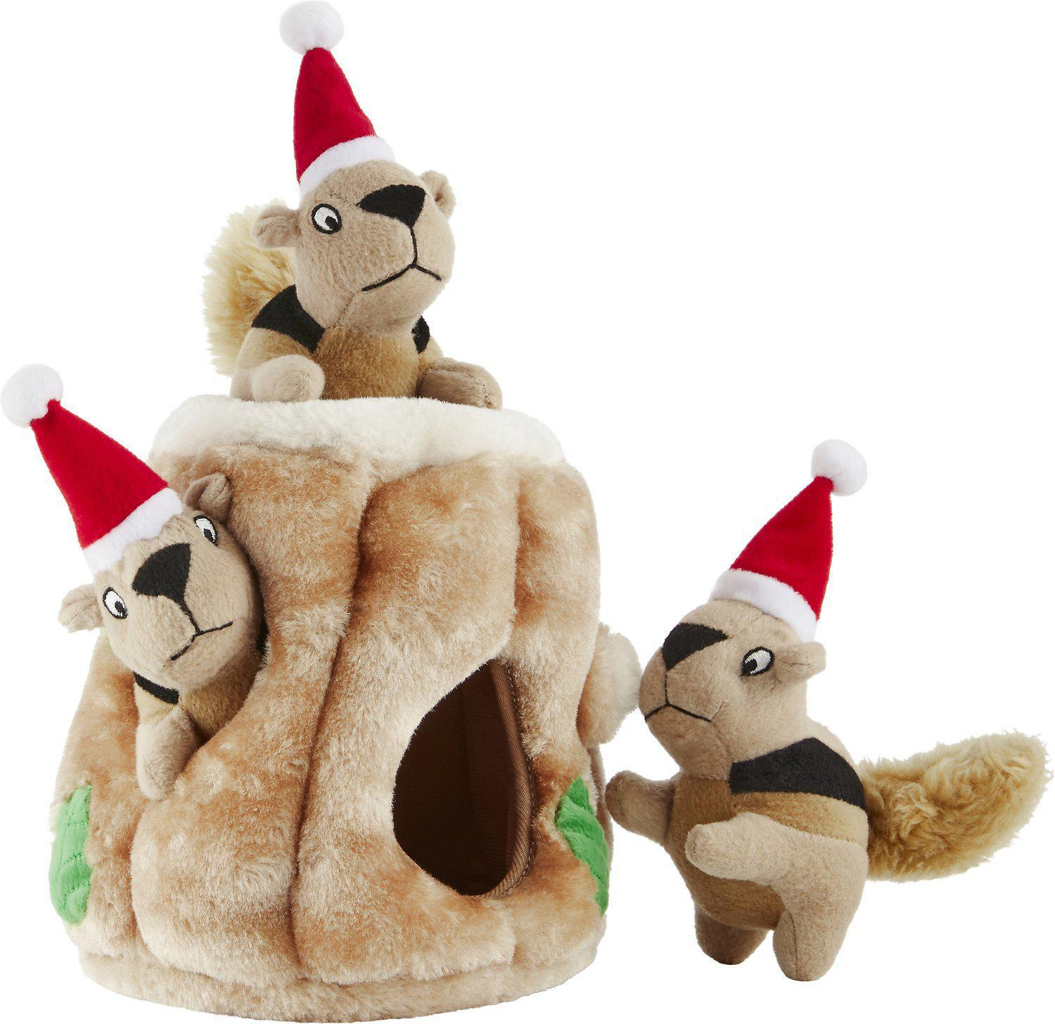 Outward Hound Holiday Hide-A-Squirrel