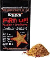 Diggin' Your Dog Firm Up! - Pumpkin+Cranberry
