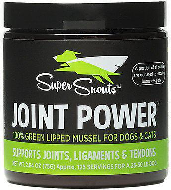 Super Snouts Joint Power Green-Lipped Mussel