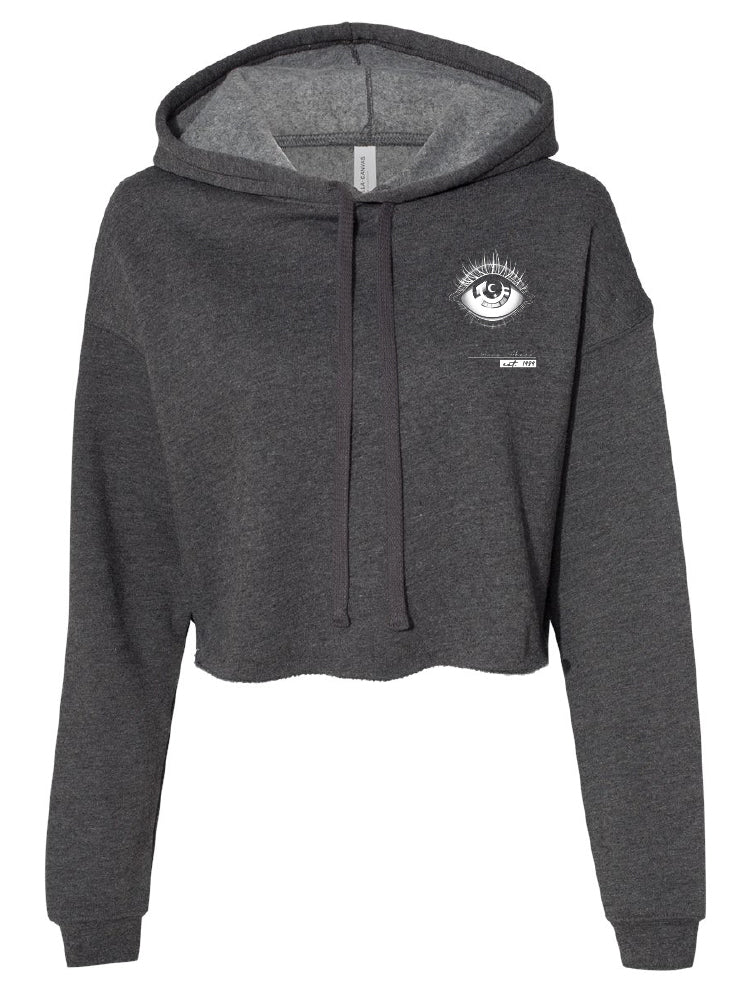 casualty - cropped eye hoodie
