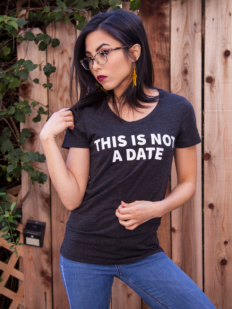 BESTSELLER - This Is Not A Date (Charcoal)