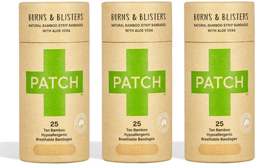 PATCH Aloe Vera Adhesive Bandages - Tube of 25 x 3