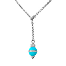 Load image into Gallery viewer, Matthia's & Claire Etrusca Collection Turquoise Pendant