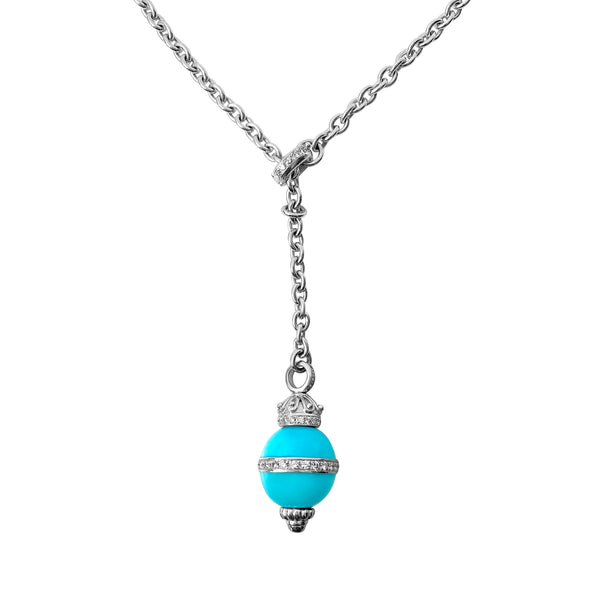 Matthia's & Claire Etrusca Collection Turquoise Pendant