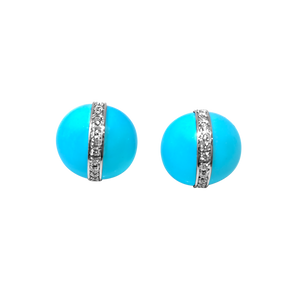 Matthia's & Claire Etrusca Collection Turquoise Earrings