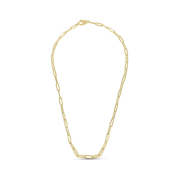 Atelier All Day 14K Gold Paperclip Chain Necklace