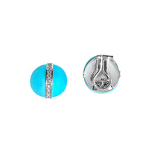 Load image into Gallery viewer, Matthia's & Claire Etrusca Collection Turquoise Earrings