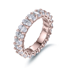 Load image into Gallery viewer, Labyrinth Diamonds 14K Gold Oval Cut Diamond Eternity Band - Oval