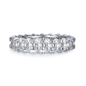 Labyrinth Diamonds Oval Cut Diamond Eternity Band - Oval