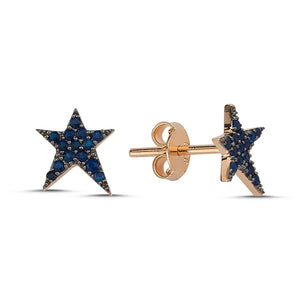 OWN Your Story Sapphire Rock Star Stud Earrings
