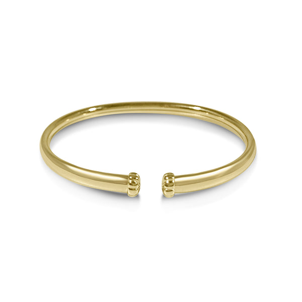 Matthia's & Claire Flexi Collection Yellow Gold Cuff Bracelet