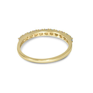 Atelier All Day 14K Gold & Opal Half Eternity Ring