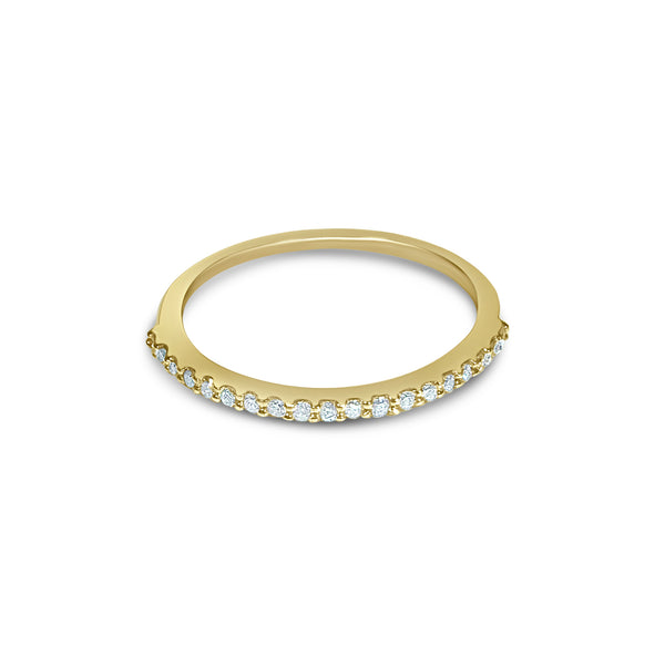 Atelier All Day 14K Gold & Diamond Half Eternity Ring