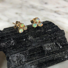 Load image into Gallery viewer, Atelier All Day 14K Gold & Opal Diamond Earrings