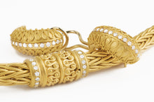 Load image into Gallery viewer, Matthia's & Claire Etrusca 18K Yellow Gold Woven Bracelet