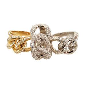 Matthia's & Claire Precious Diamond Links Ring