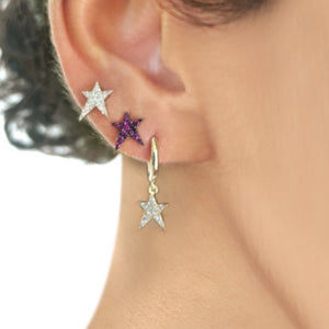 OWN Your Story Ruby Rock Star Stud Earrings