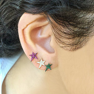OWN Your Story Emerald Rock Star Studs