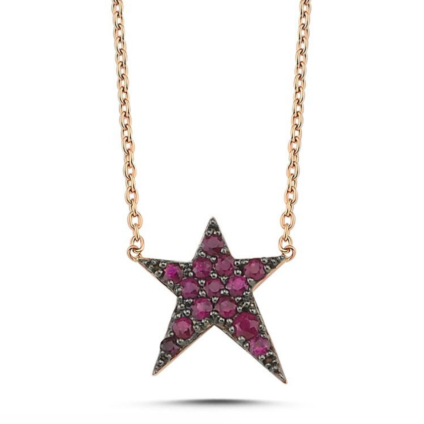 OWN Your Story Ruby Rock Star Necklace