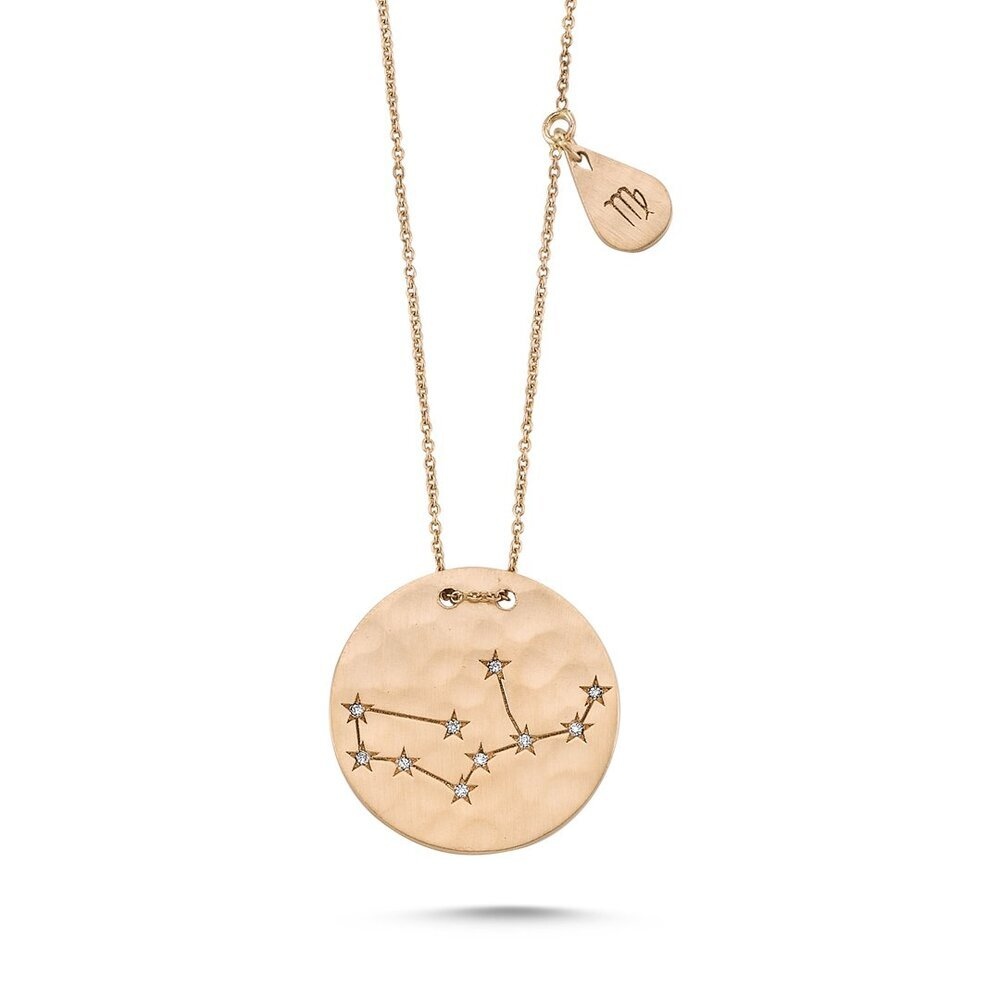 OWN Your Story Diamond Zodiac Astrological Constellation Pendant