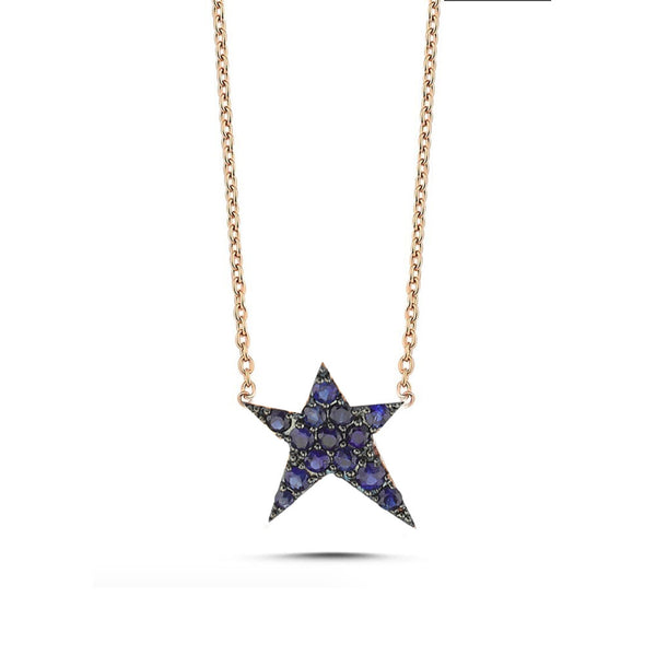 OWN Your Story Sapphire Rock Star Necklace