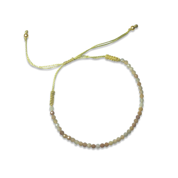 Atelier All Day Moonstone String Bracelet