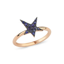 Load image into Gallery viewer, OWN Your Story Sapphire Rock Star Ring