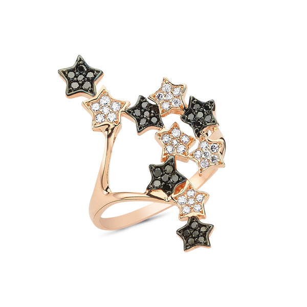 OWN Your Story Starburst Finger Climber Ring with Diamonds