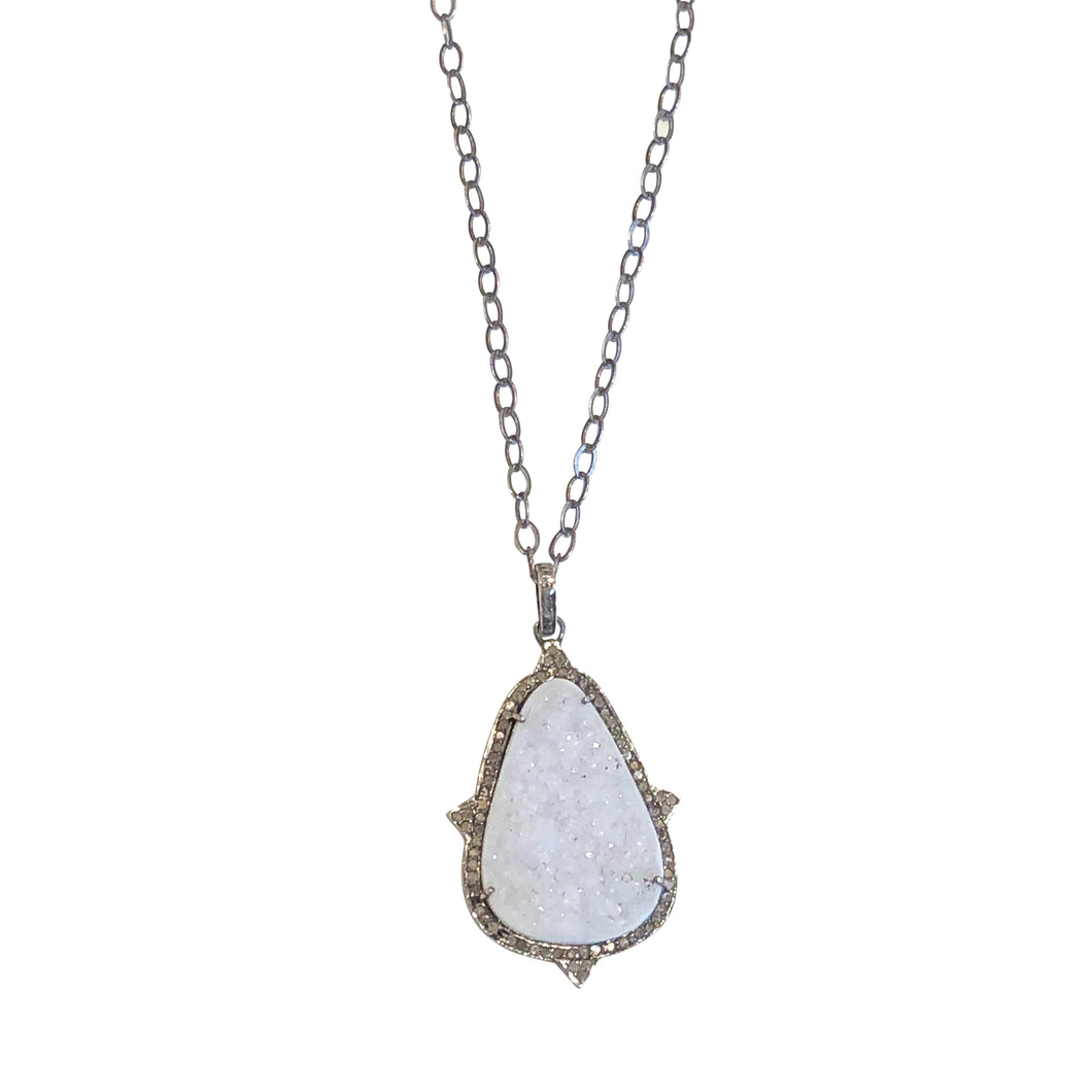 Anné Gangel Druzy Necklace