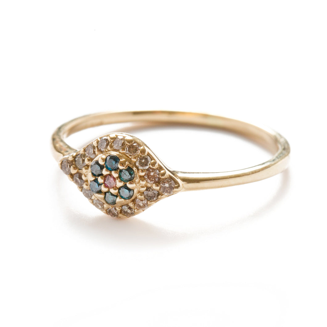 Anné Gangel Diamond Evil Eye Ring