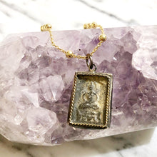Load image into Gallery viewer, Anné Gangel Antique Thai Buddha Pendant