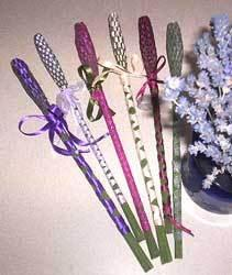 Lavender Wand - The Essential Herbal