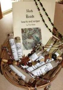 Herb Beads - how to and recipes