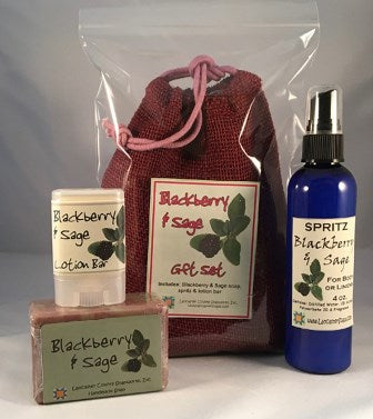 Blackberry Sage Set - The Essential Herbal