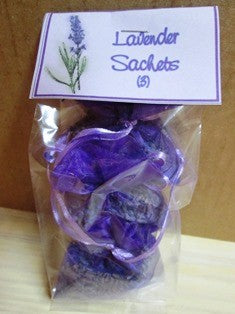 Lavender Sachets (3) - The Essential Herbal