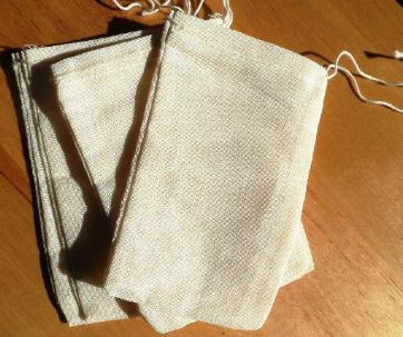Muslin Tea Bags (6) - The Essential Herbal