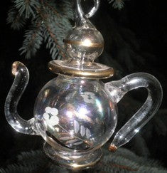 Teapot Ornament - The Essential Herbal