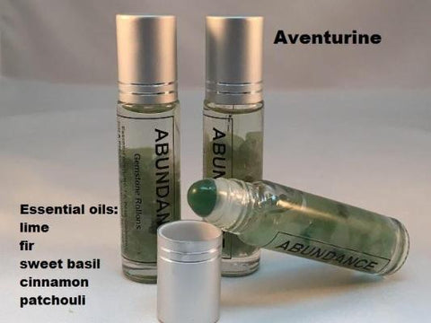 Intention Gemstone Roll-Ons - The Essential Herbal