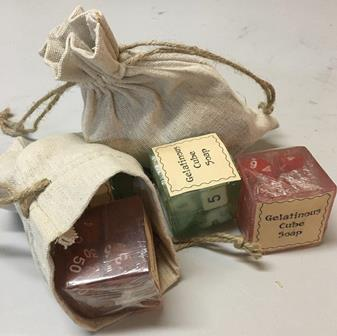 Gelatinous Cube Soaps - The Essential Herbal