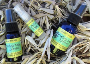 Liquid Smudge - White Sage - The Essential Herbal