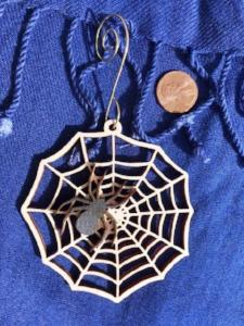 Spider and Web Christmas Tree Ornament - The Essential Herbal